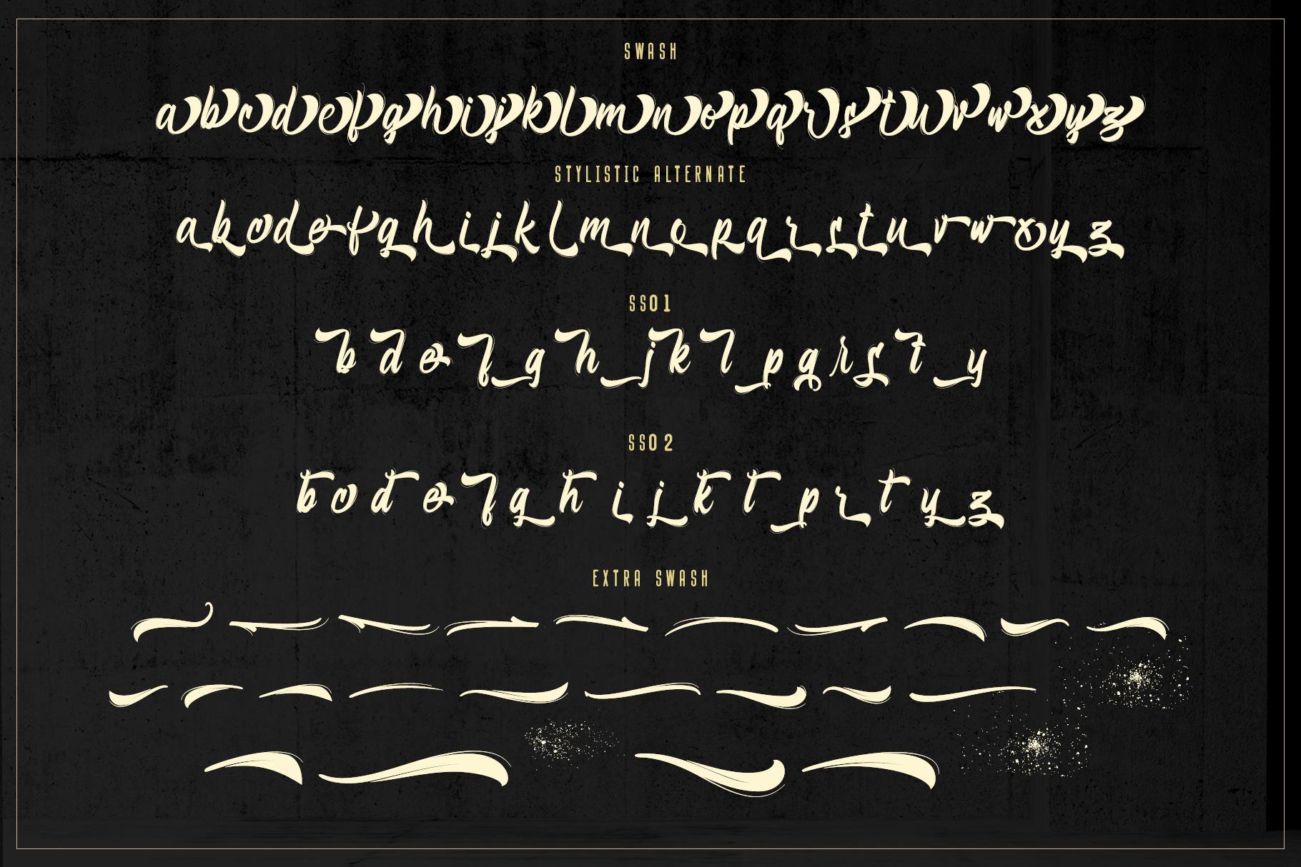 Bellsmore Brush Script example image 17