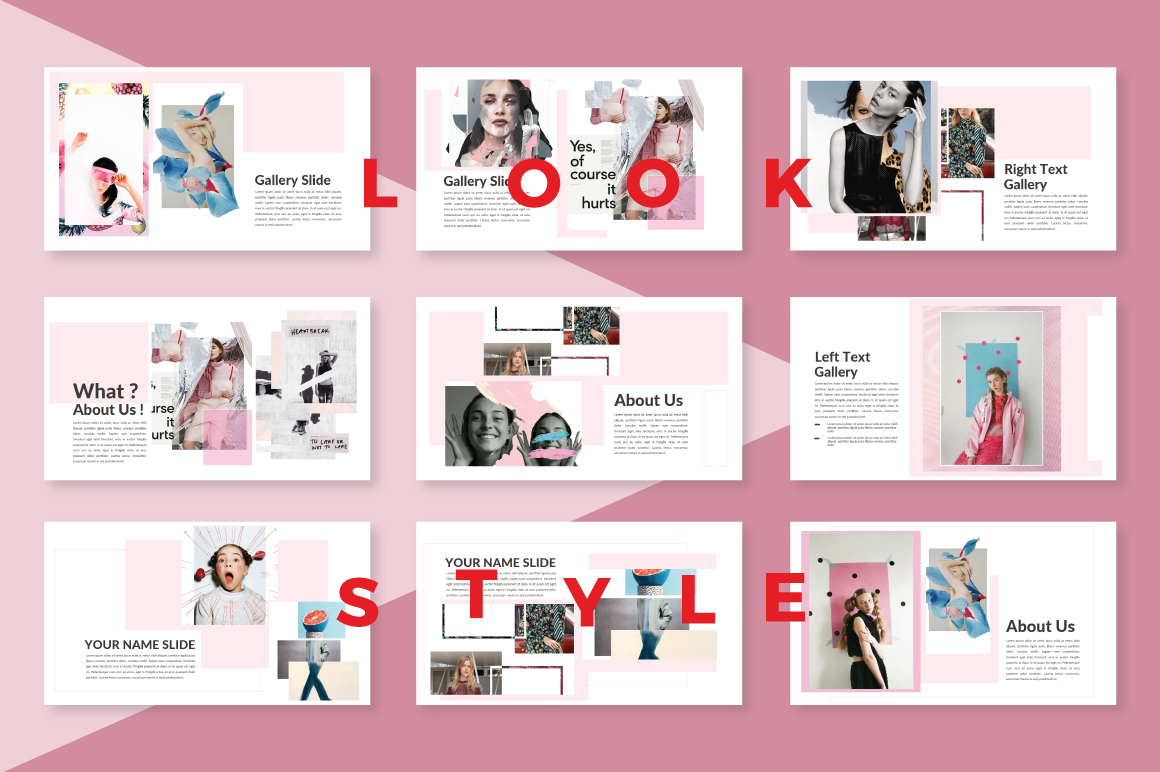 LookStyle Powerpoint Template example image 2