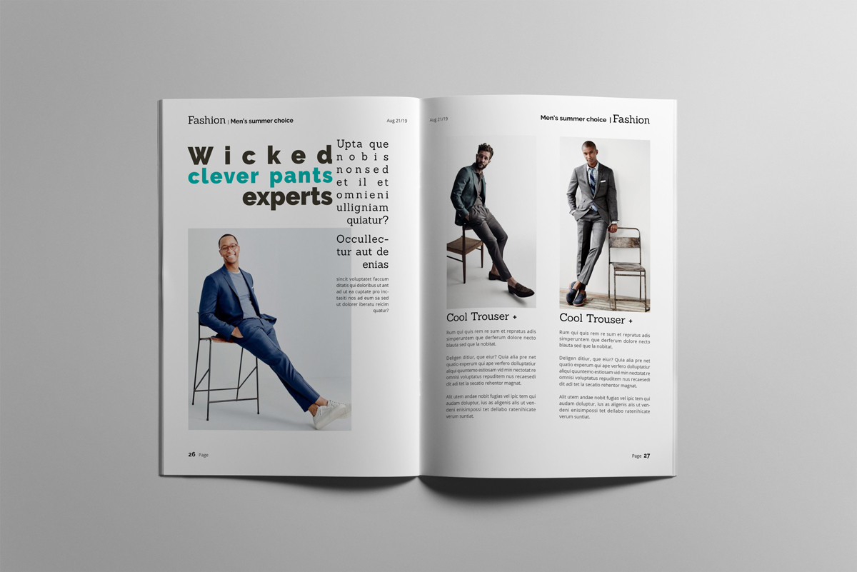 Magazine layout design example image 14
