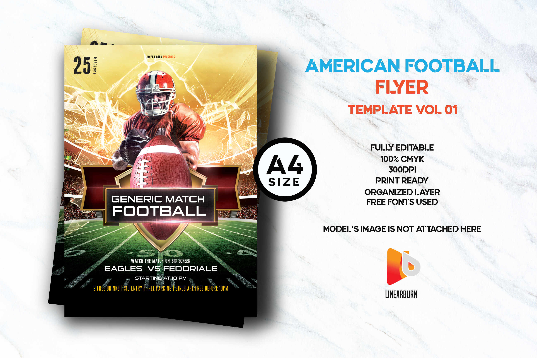 American Football 01 example image 1