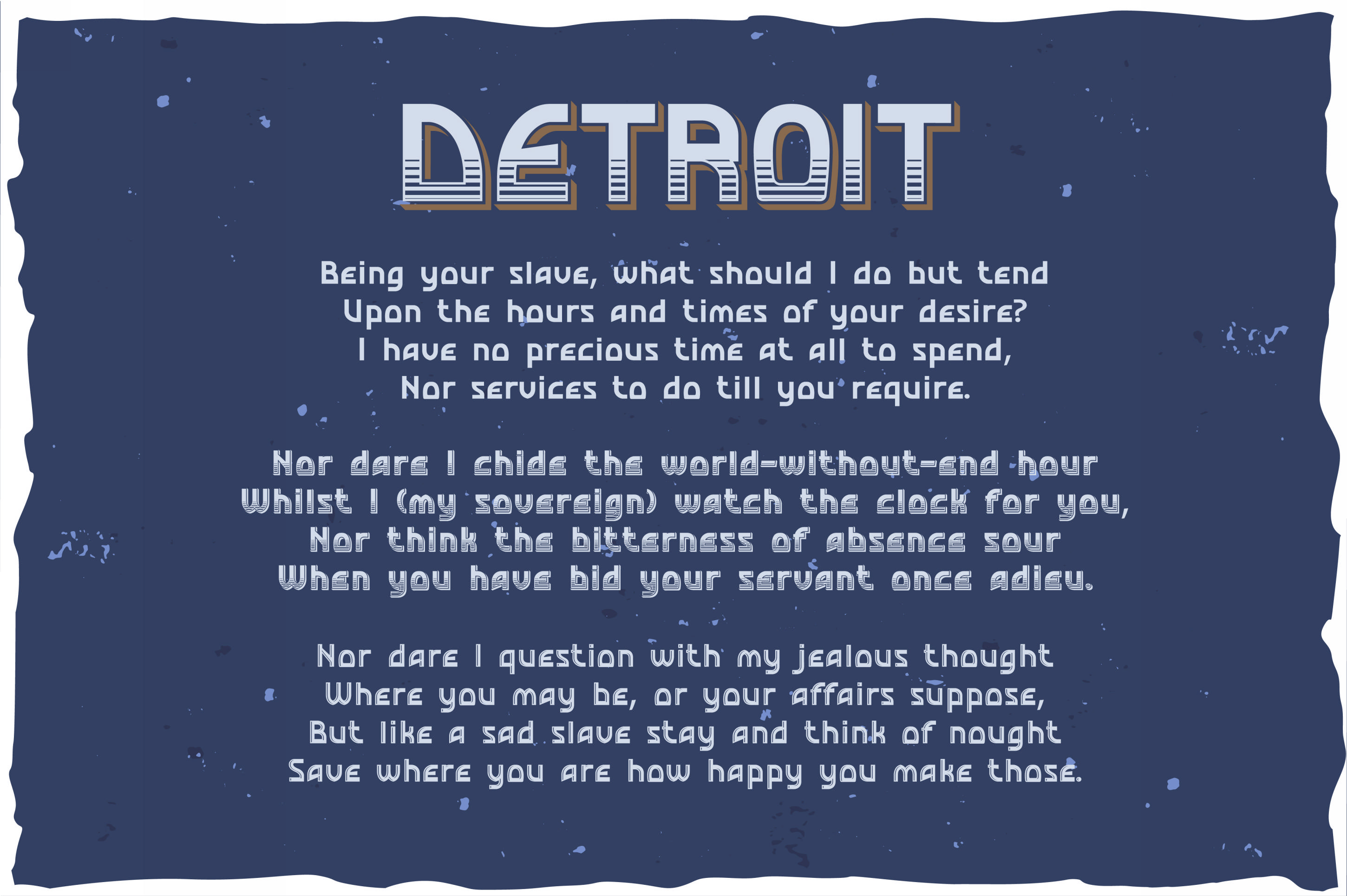 Detroit. OTF and Vector vintage font. example image 2
