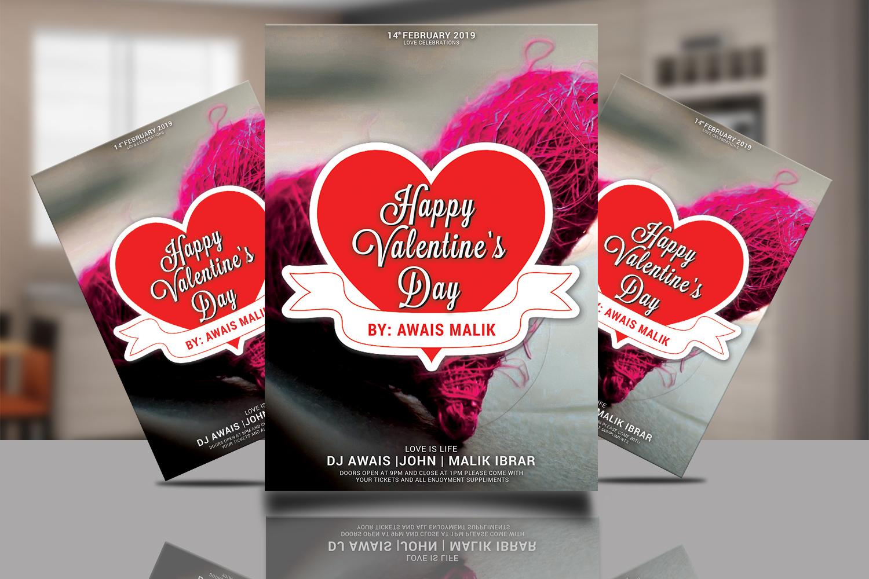 Valentines Day Flyer Bundle example image 11