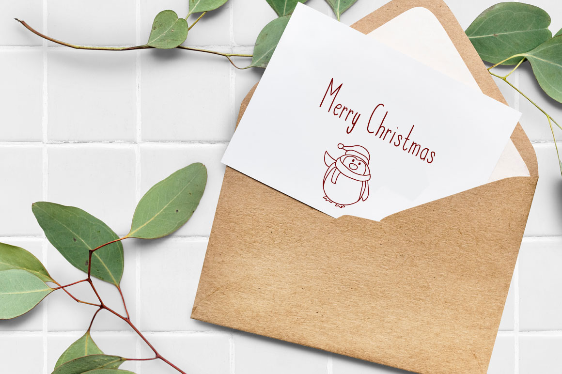 Candlestik Christmas Font & Extras example image 3