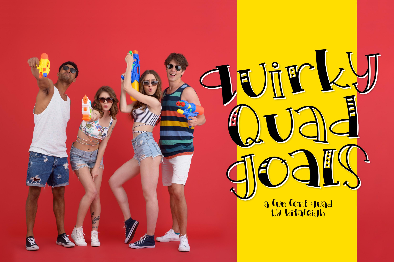 Quirky Quad Goals example image 1
