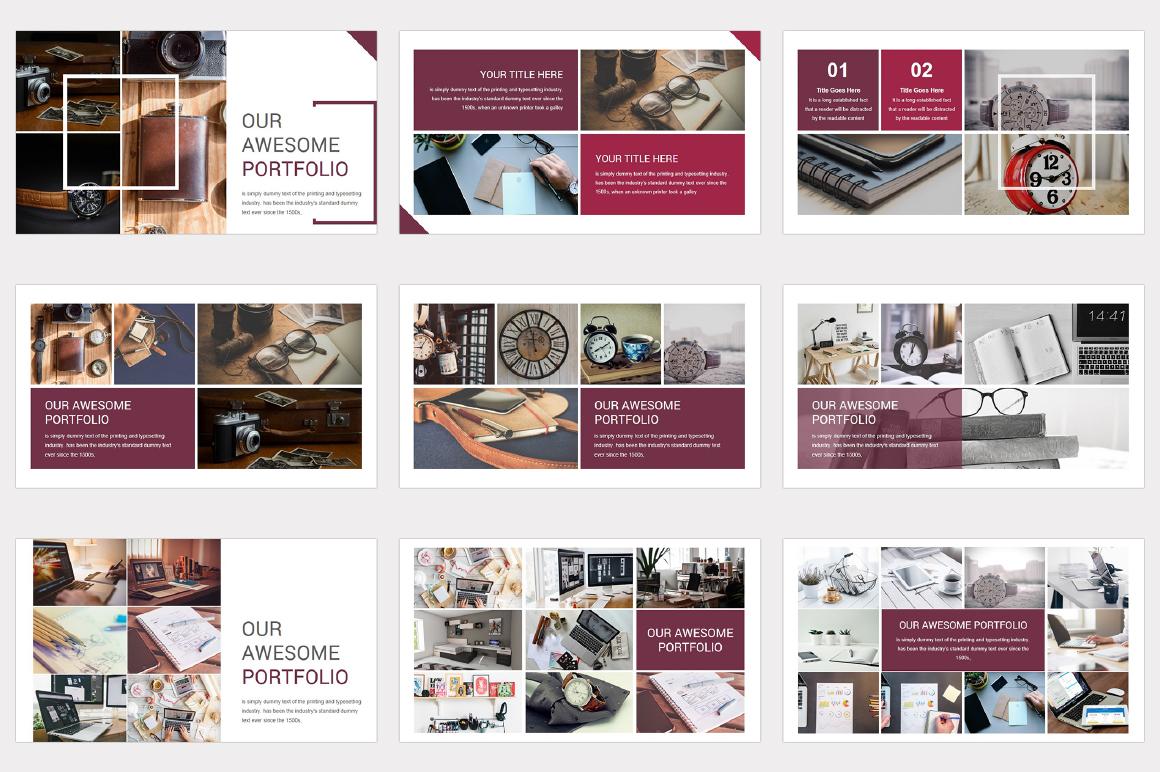 Varied multipurpose PowerPoint Presentation Template example image 7