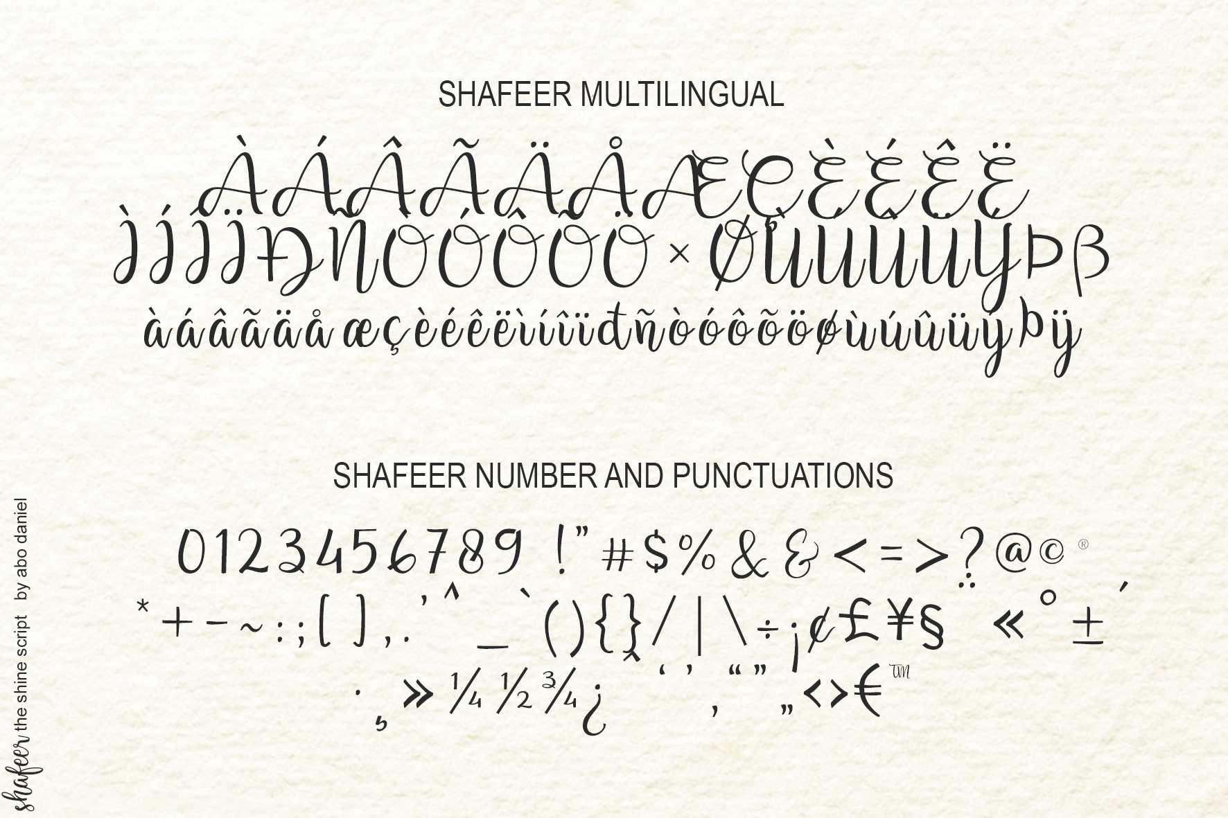 Shafeer -Beauty Font Duo- example image 16