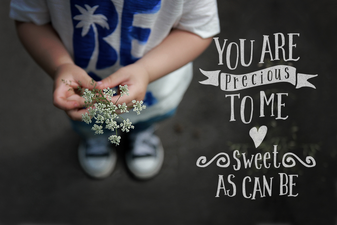 Handwritten font - Sweet September example image 3