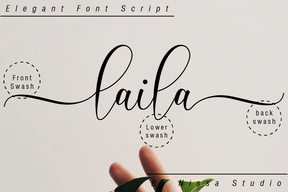 Laila Script example image 10