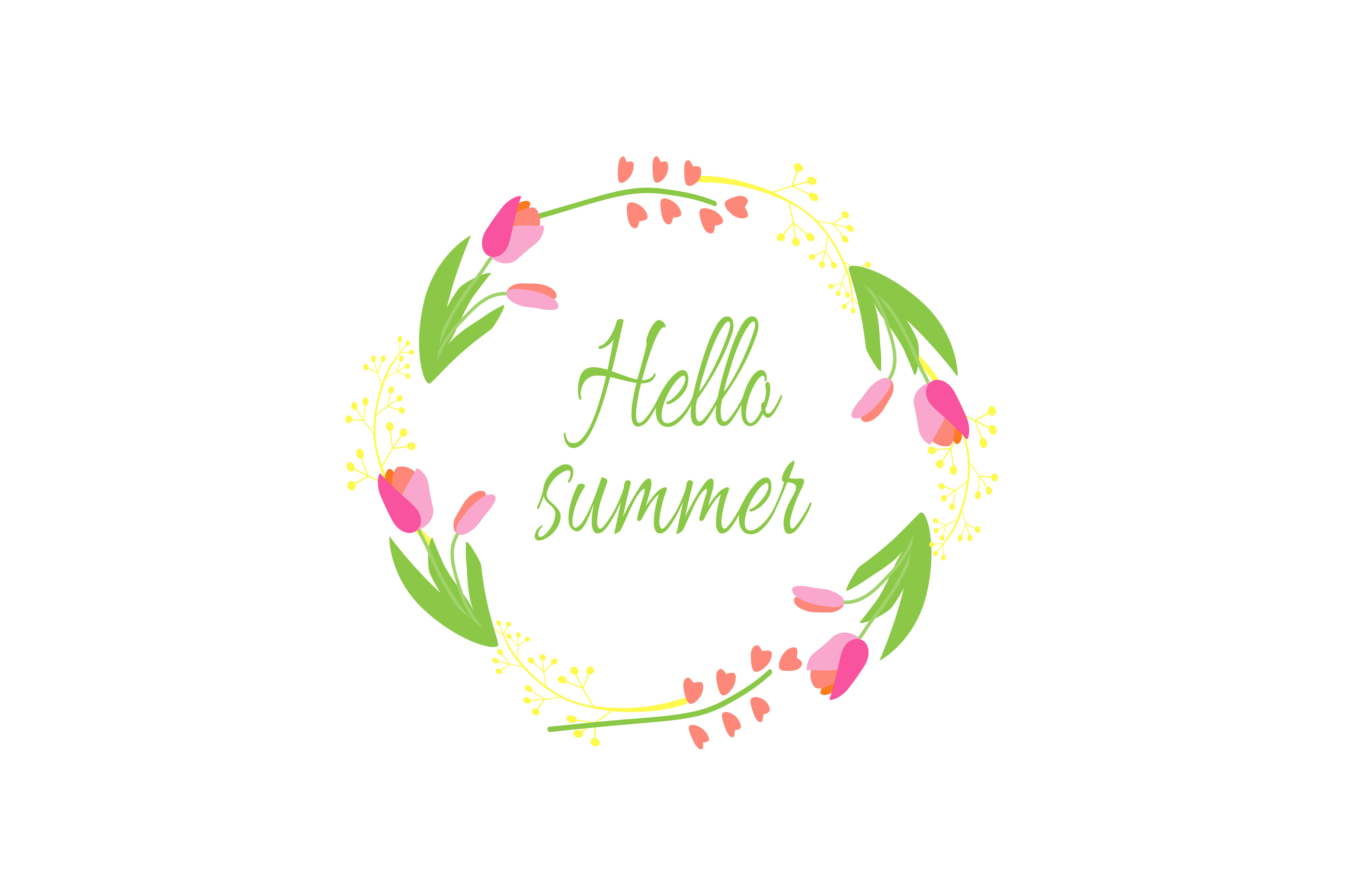 Summer Labels Vector Ai+Eps+Png example image 3