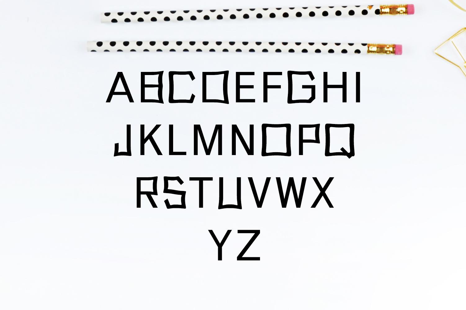 Abira Sans Serif Typeface example image 3