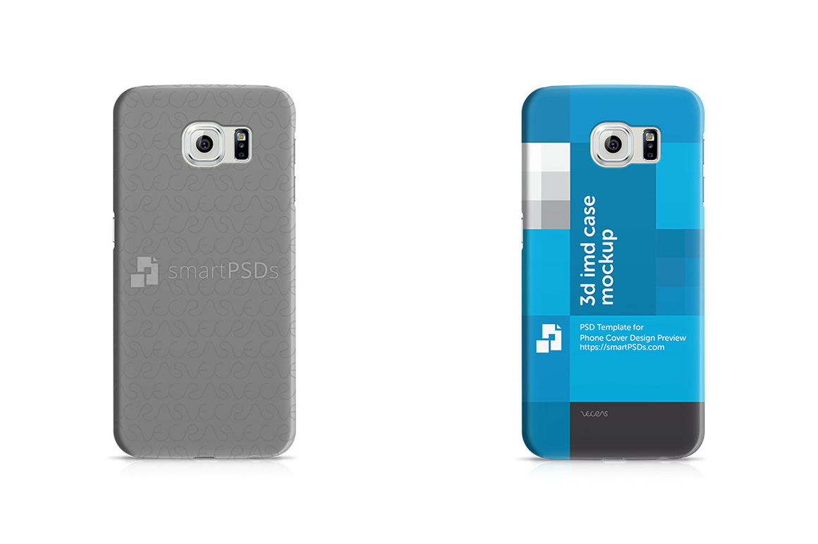 Samsung Galaxy S6 3d IMD Mobile Case Design Mockup 2015 example image 4