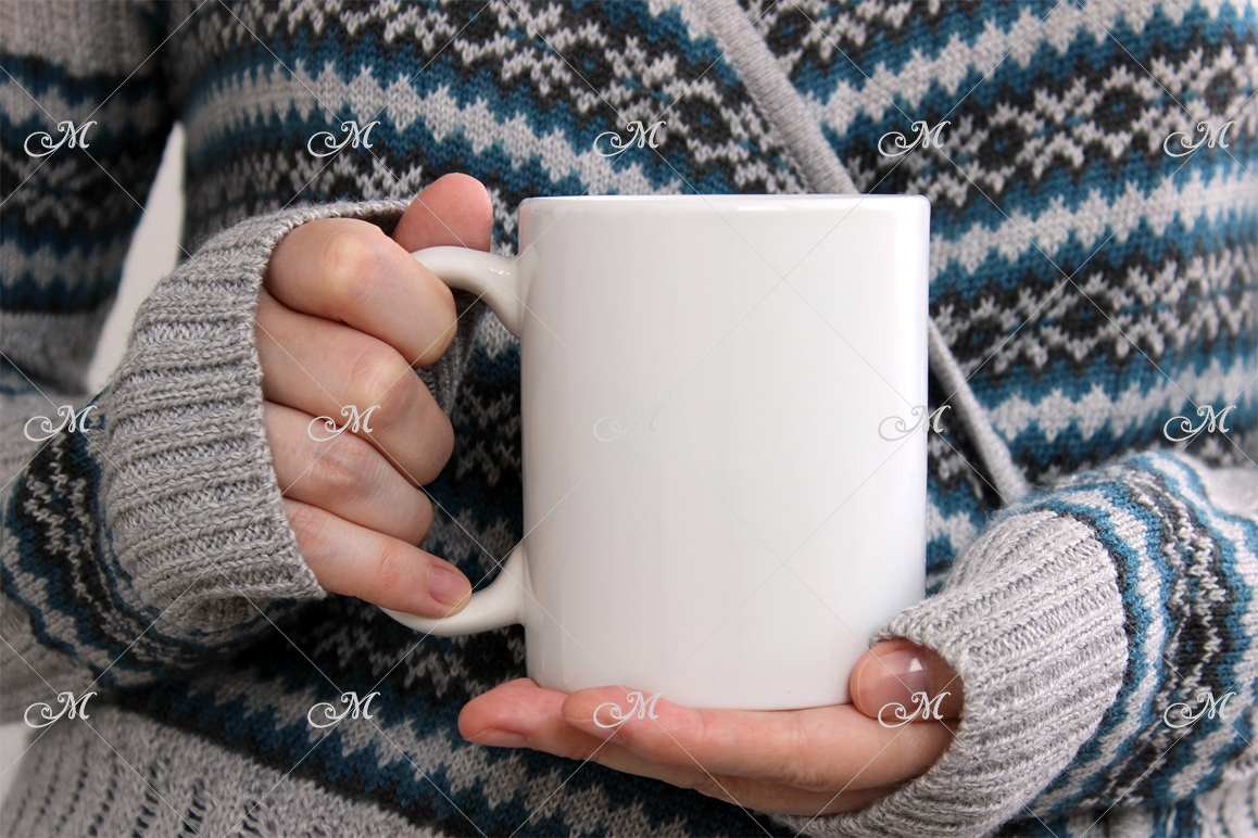 Cozy Mug Mockup. JPEG only example image 2