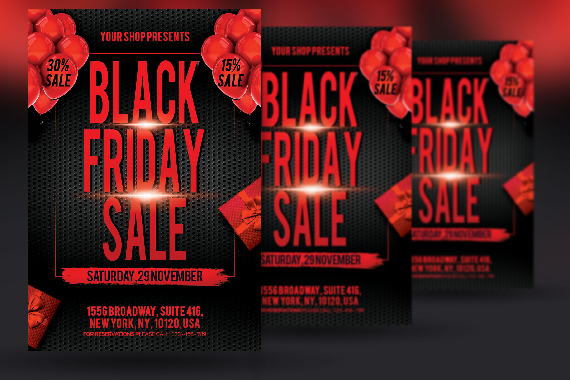 Black Friday Sale Flyers example image 2
