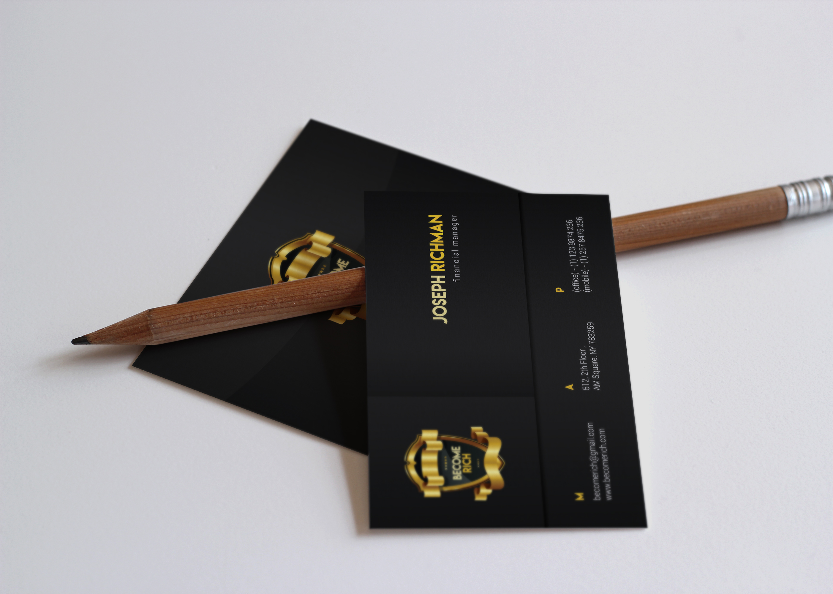 Luxury Business Card example image 2