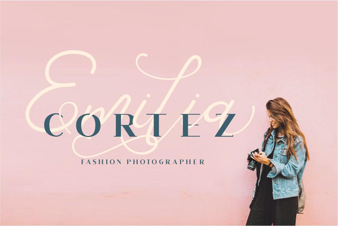 Corlita - Font Trio example image 4