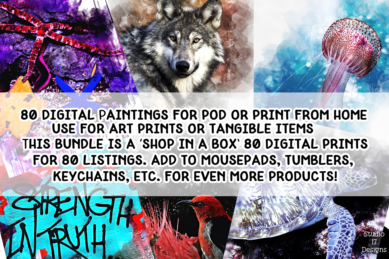 Digital Art Prints- Art Shop In A Box- Art Bundle example image 1