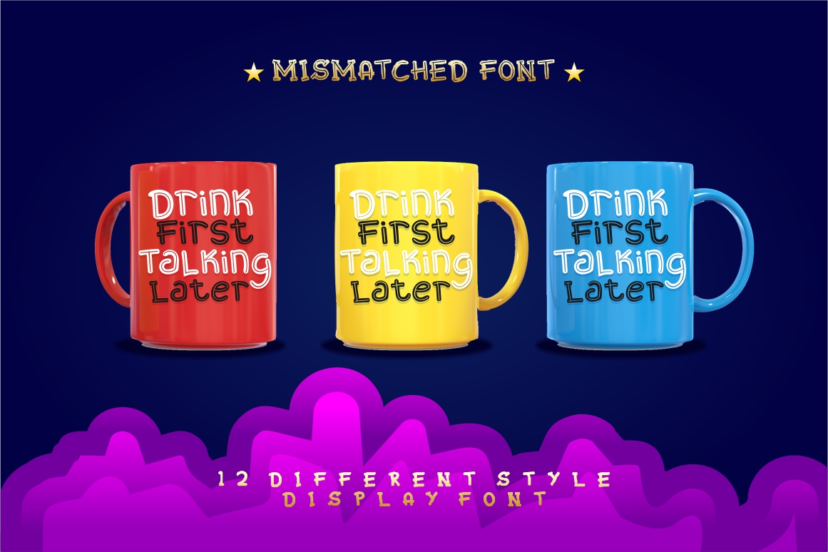Mixy Missy - 12 Style Display Font example image 8