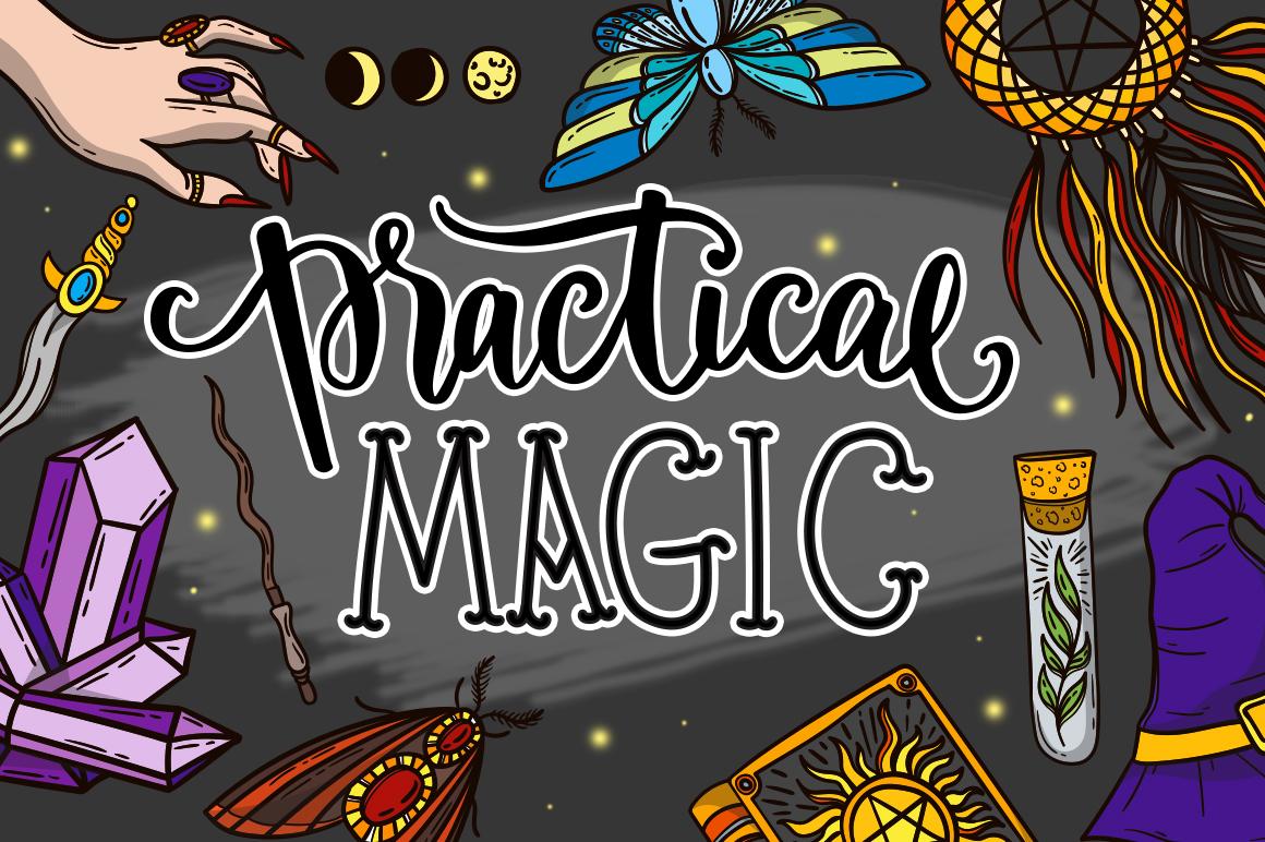 Practical magic - design bundle example image 1