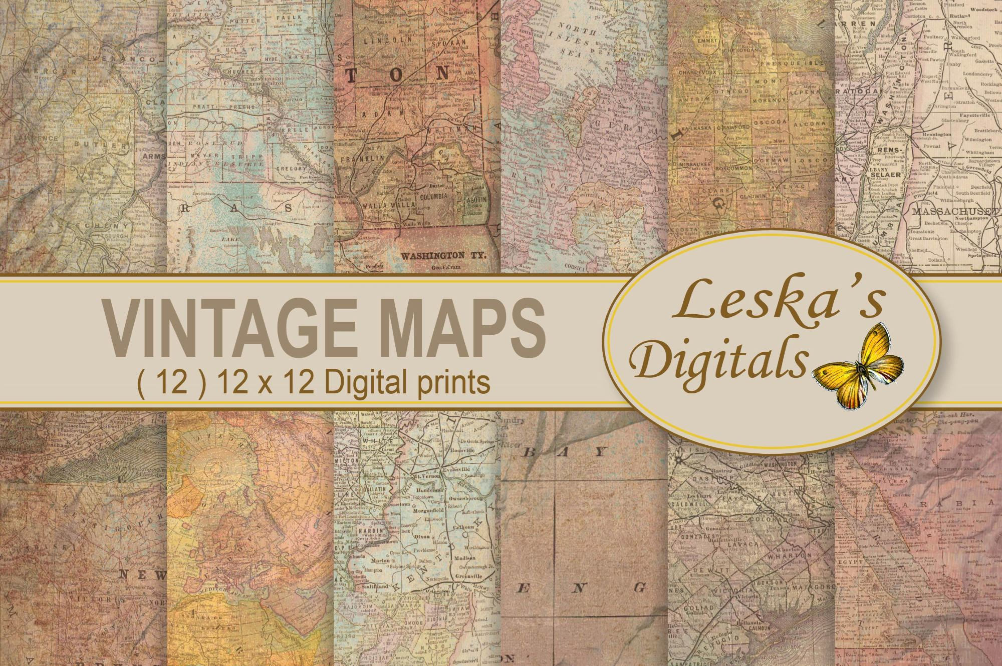 Maps Digital Background example image 1