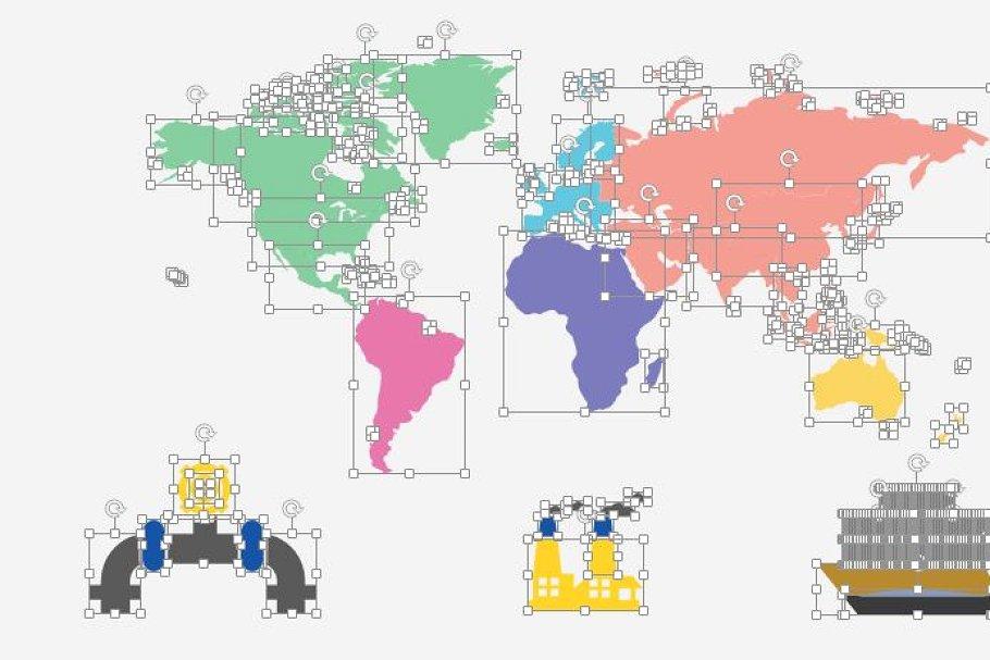 Smart World Map example image 5