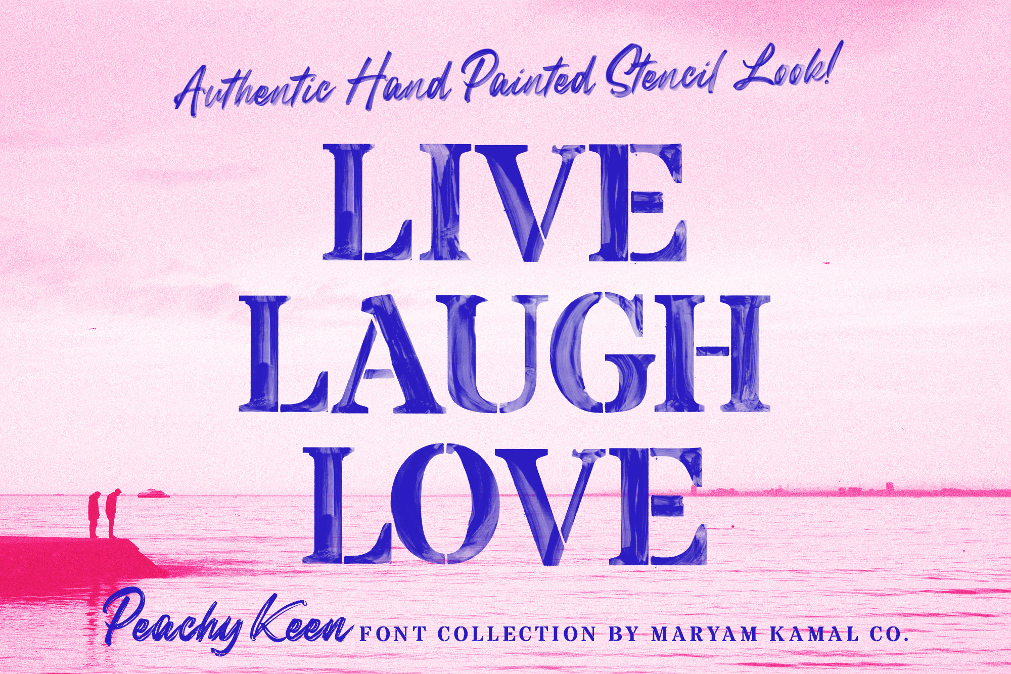 Peachy Keen Font Collection example image 18