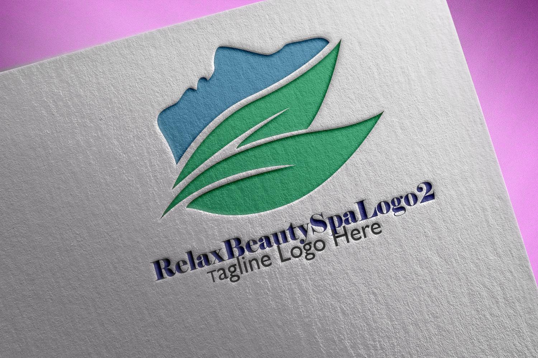 Premium Relax Beauty Spa Logo 2 example image 1