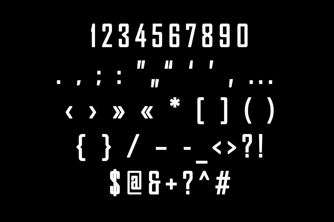 Pertamax Font example image 4