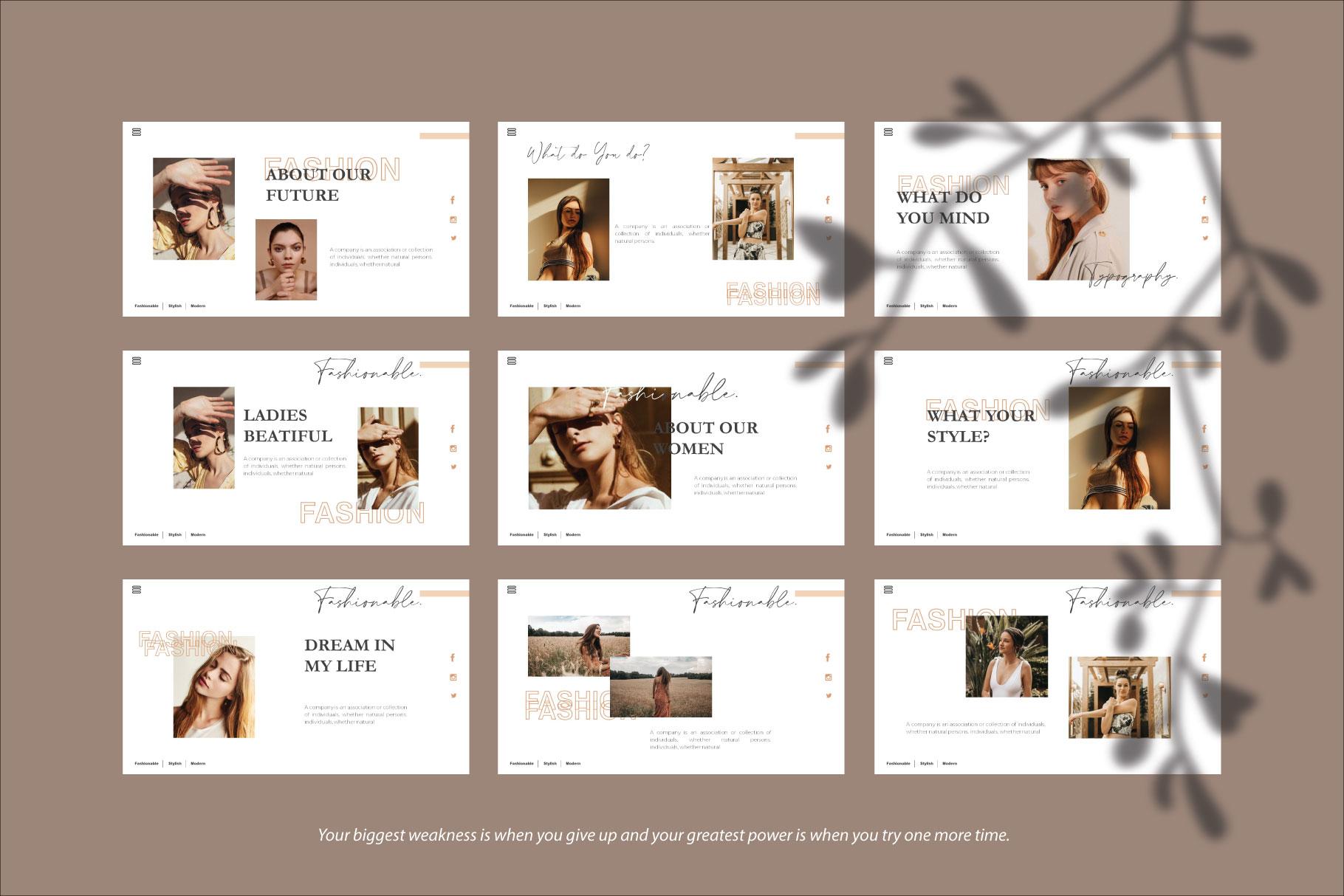 Claudia Keynote Template example image 2