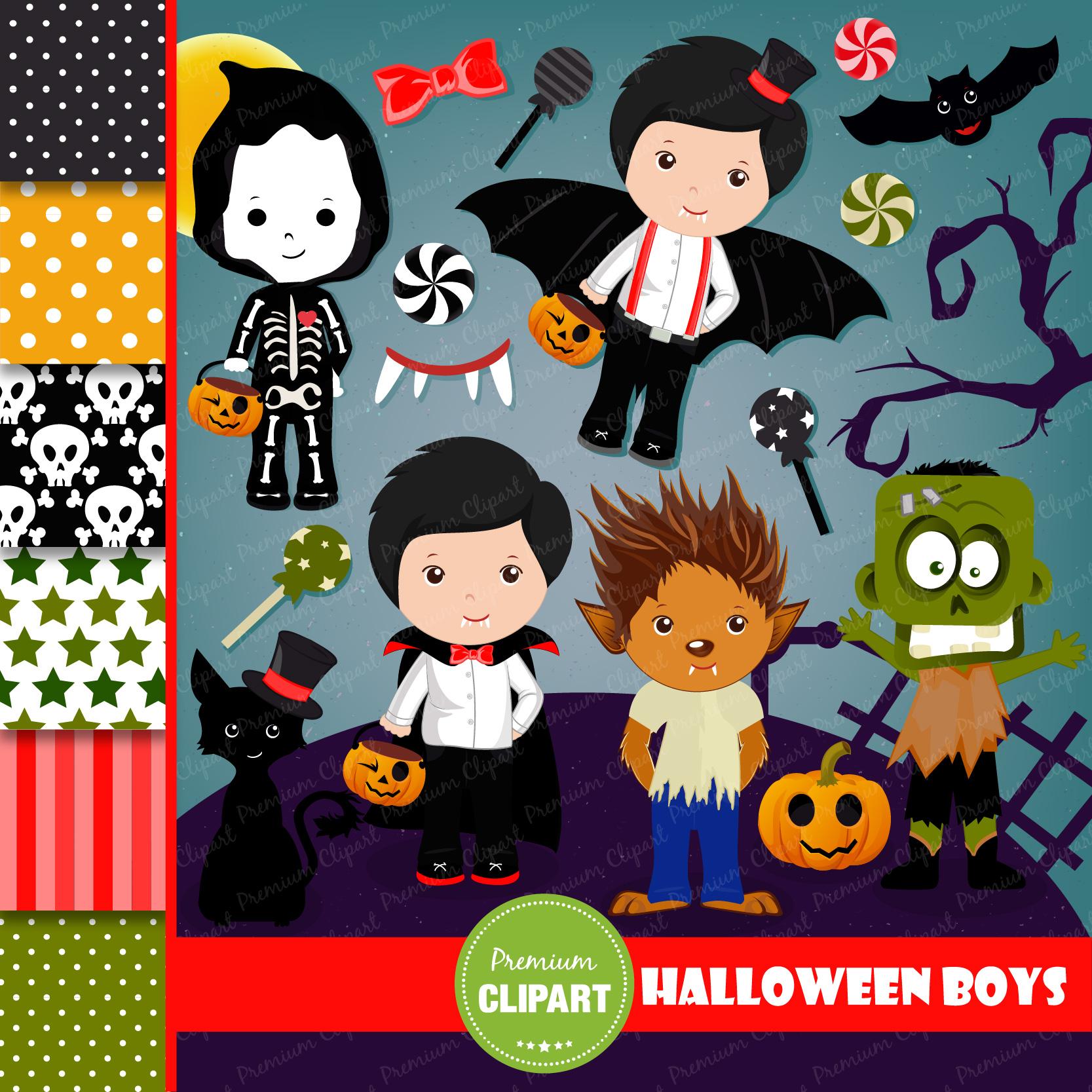 Halloween bundle, Halloween illustrations example image 20
