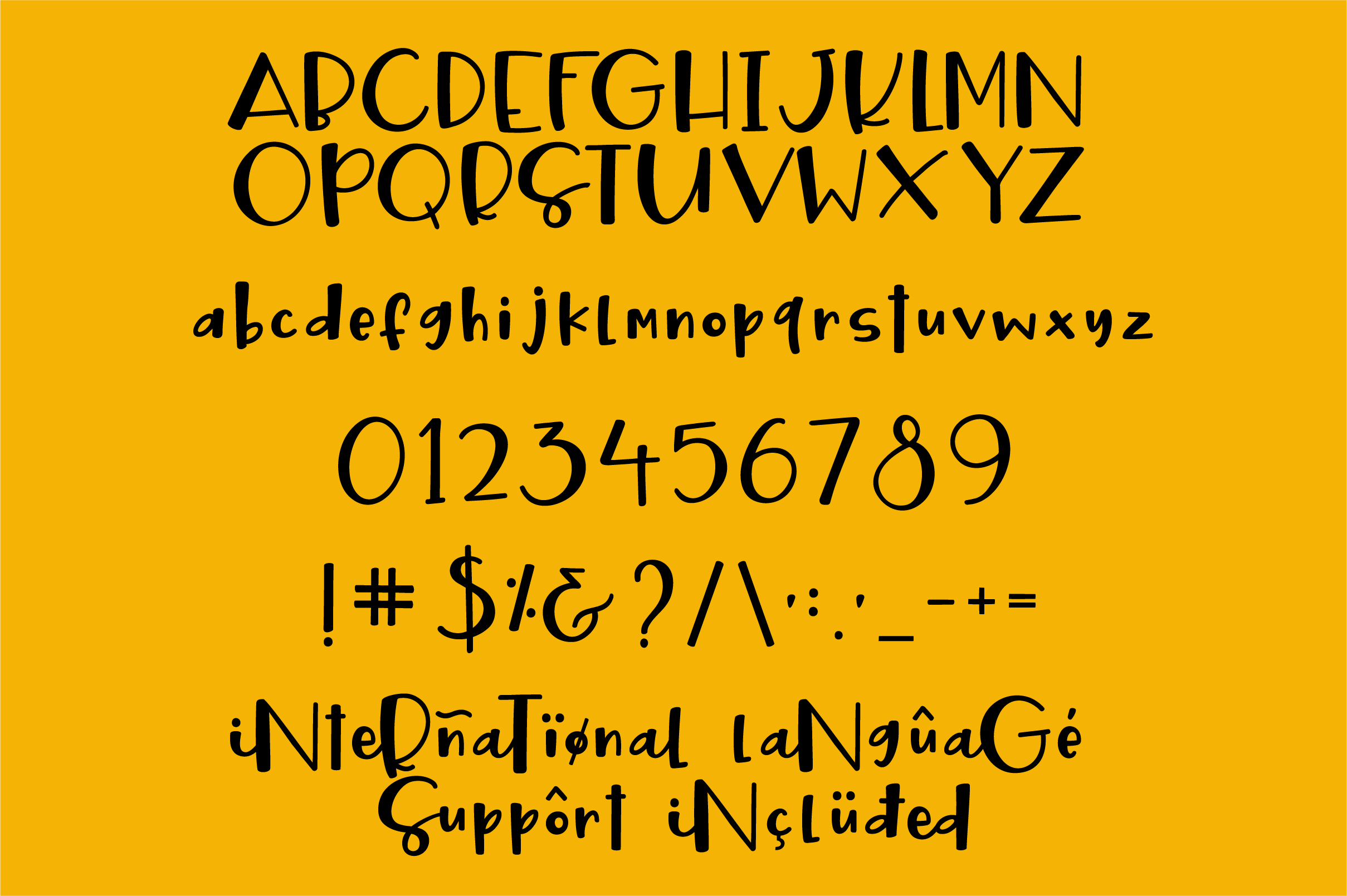 Twisted Jellyroll, a quirky mixed-case font with ligatures example image 9