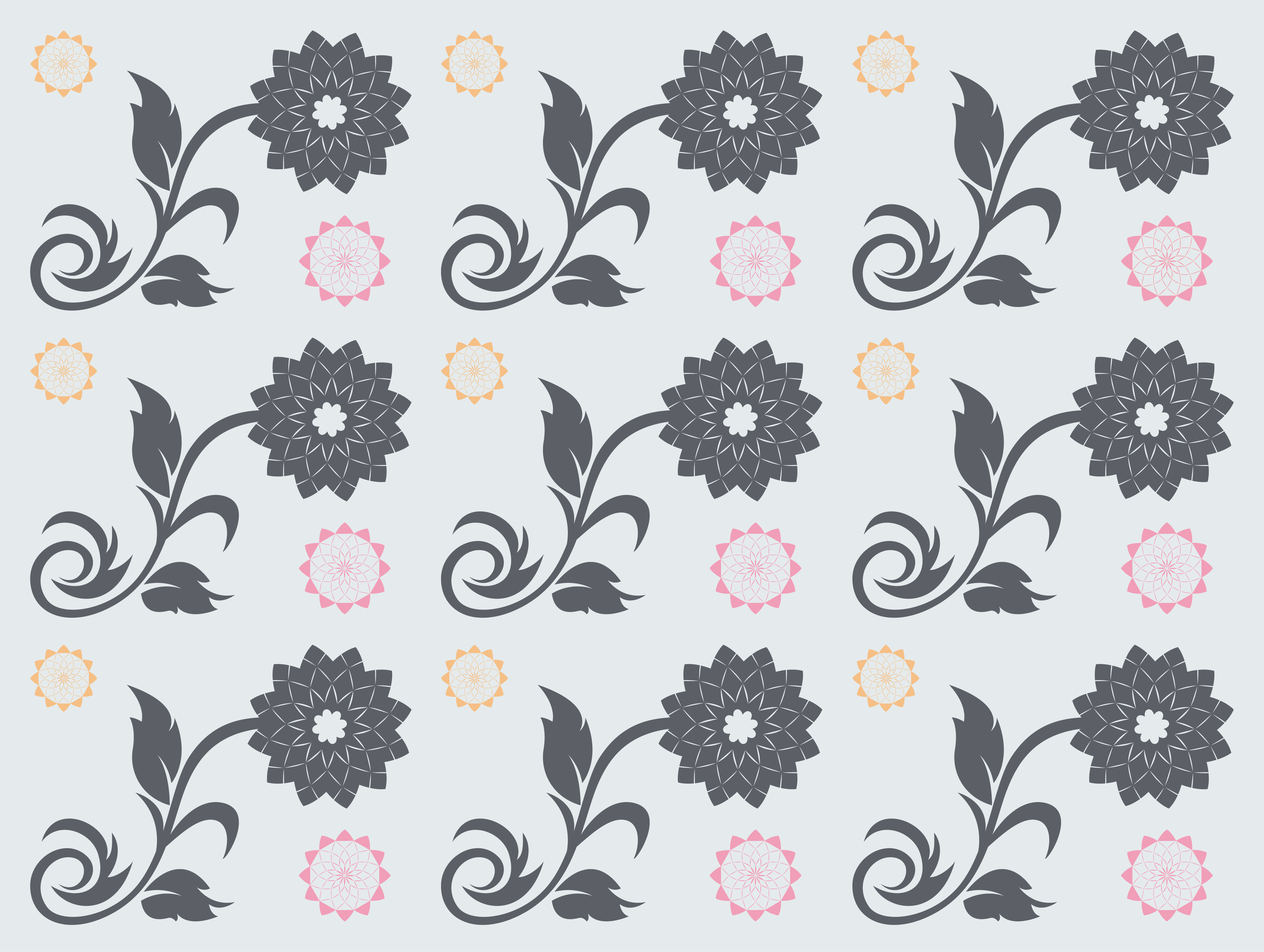 Seamless Vector Patterns Bundle example image 8