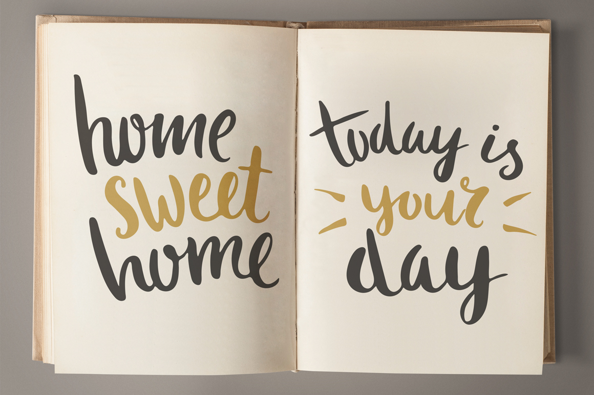 25 Hand Lettering Phrases & Posters example image 6