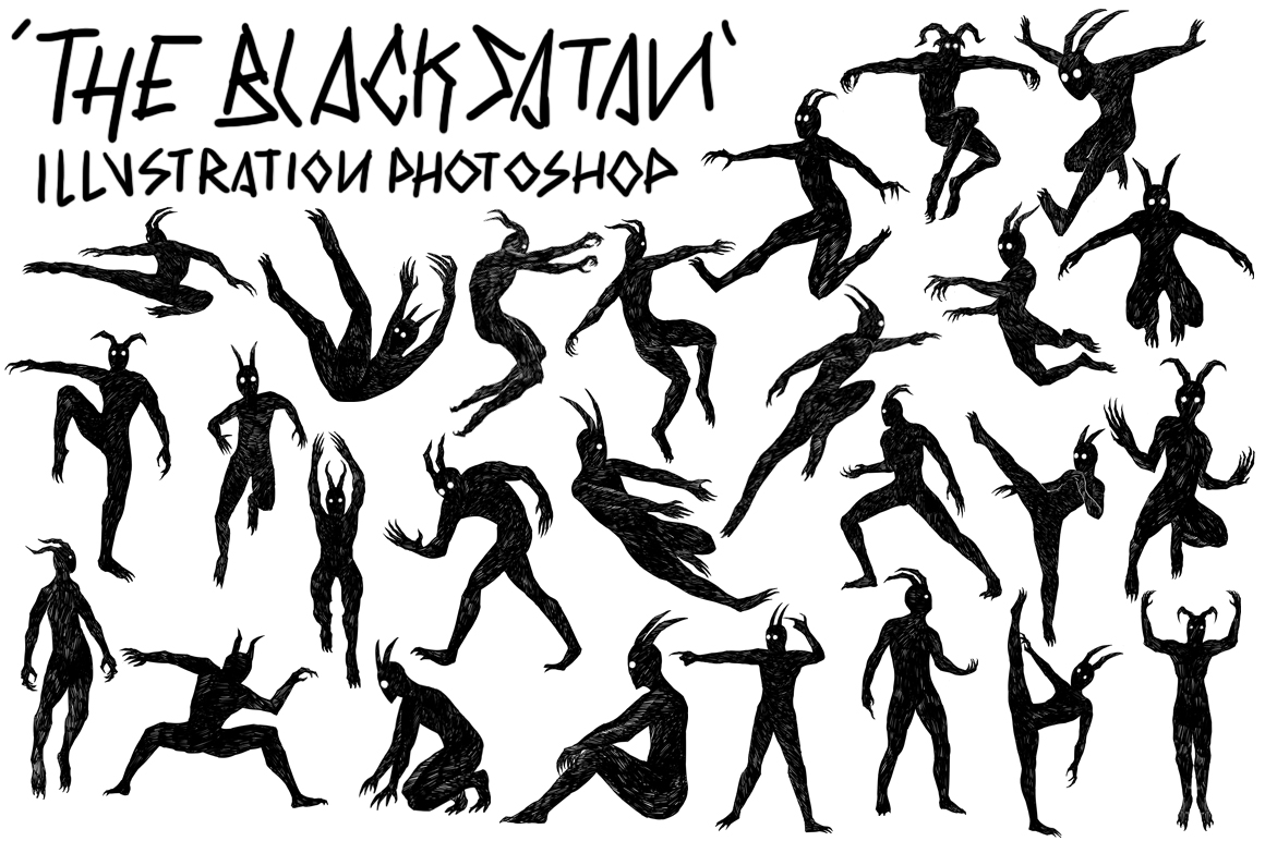 The Black Satan Collection example image 1