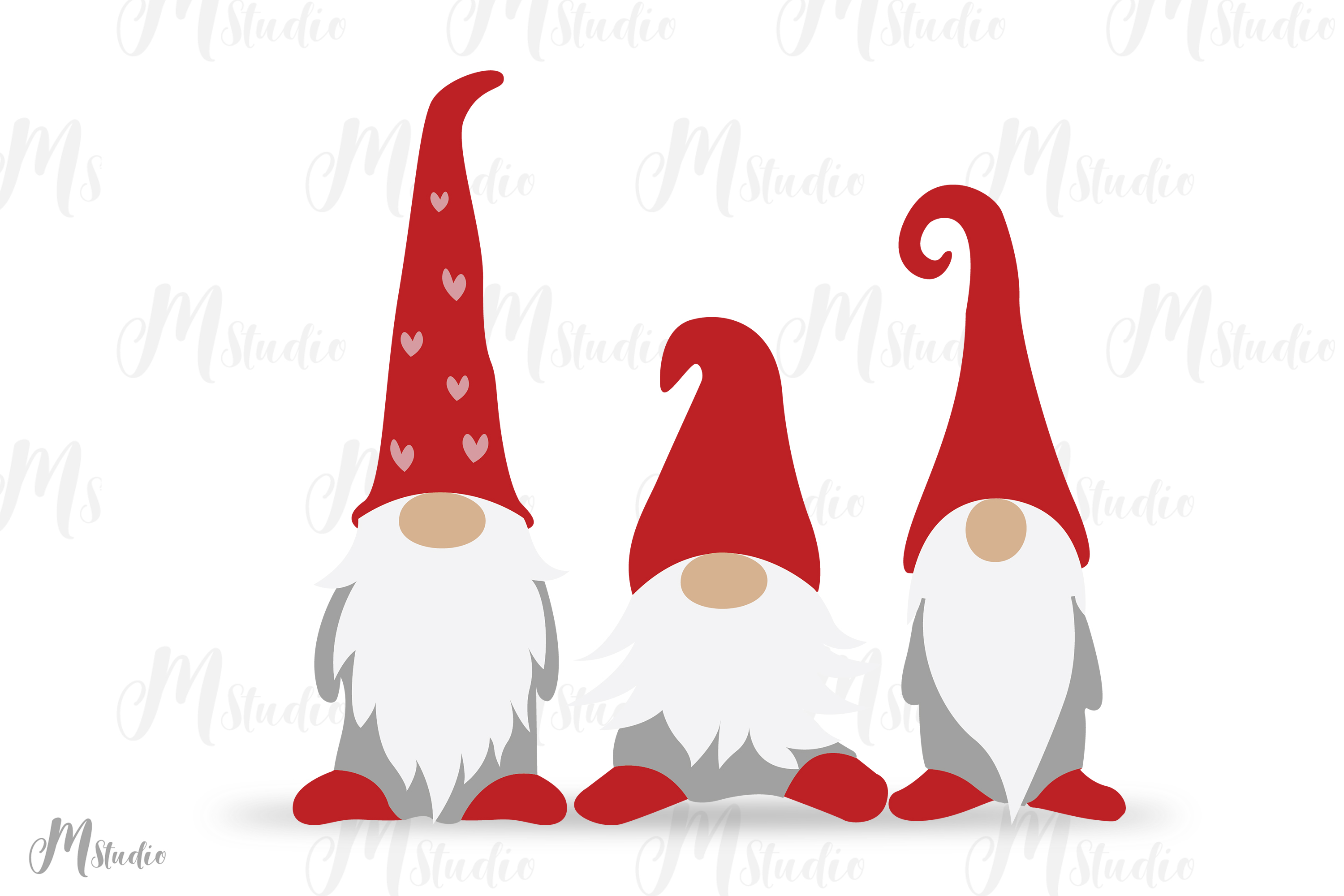 Download Valentine Gnomes Svg.