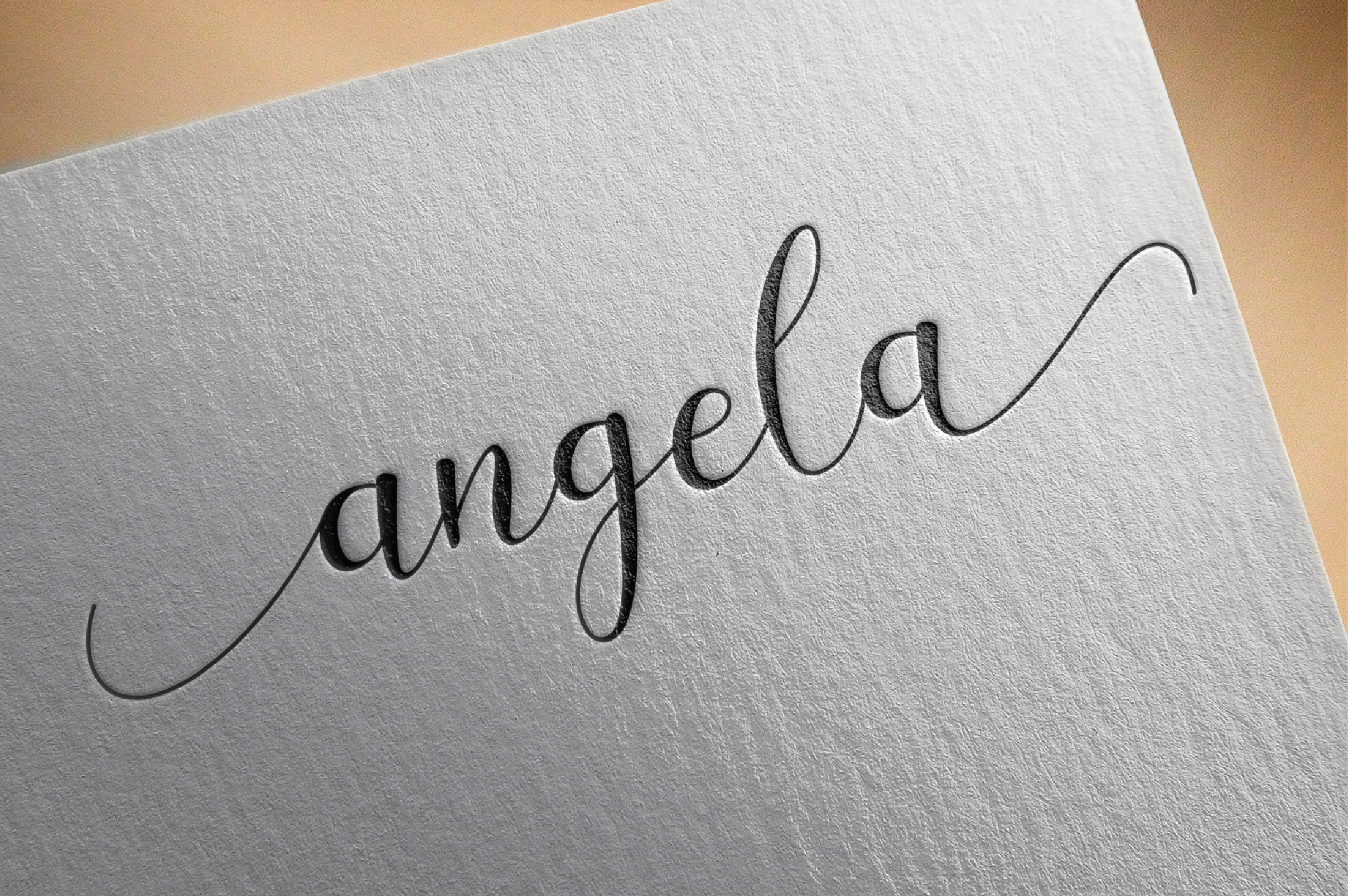Gayla script example image 5