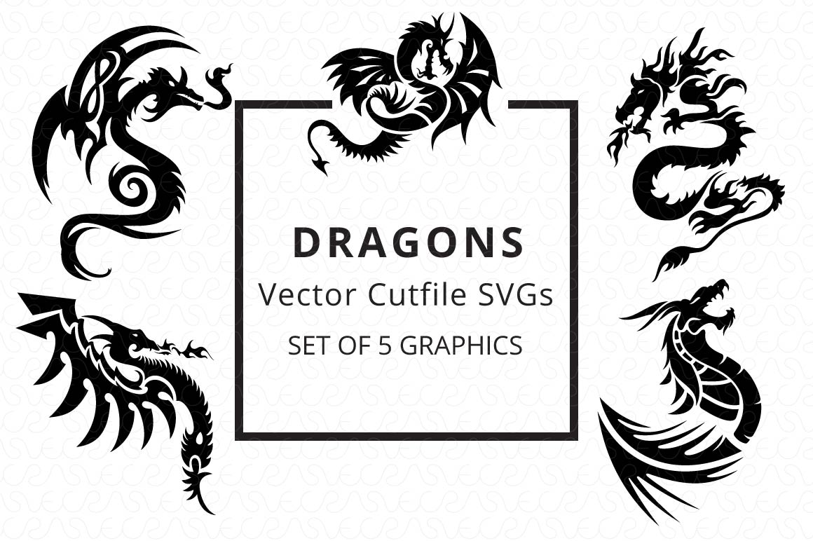 SVG Cutfiles Bundle-1 with 200 Unique Shapes example image 4