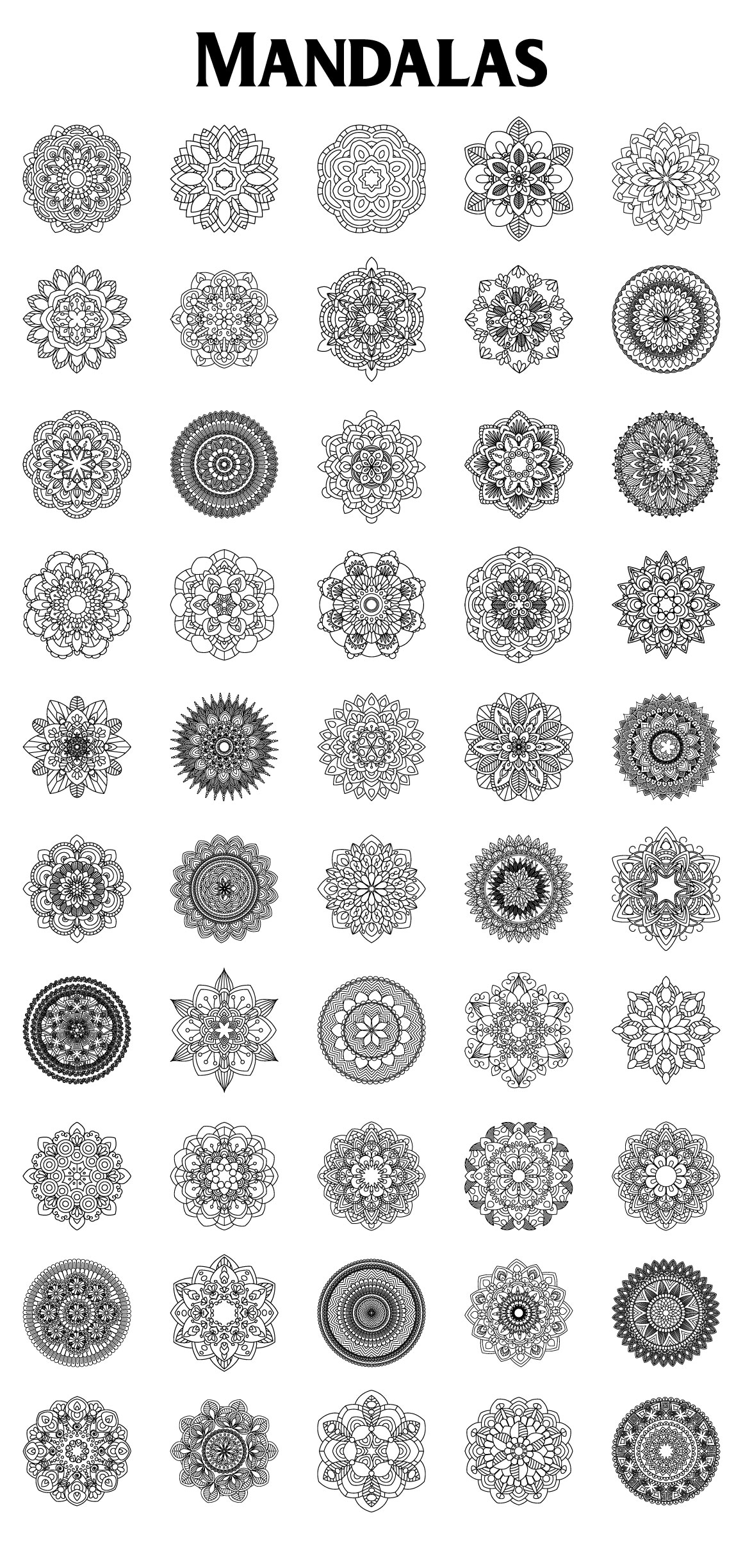 Mandalas Collection example image 3
