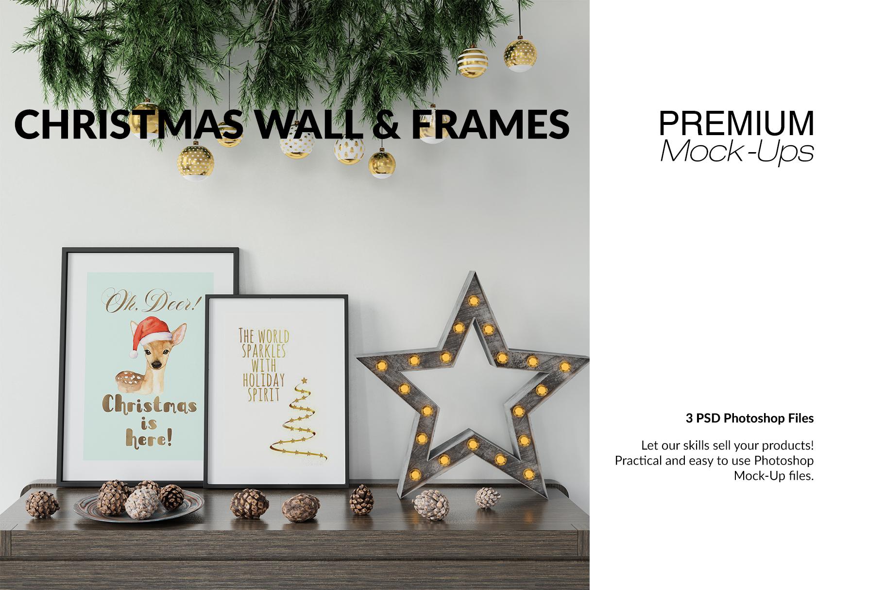 Christmas Frames & Wall Set example image 1