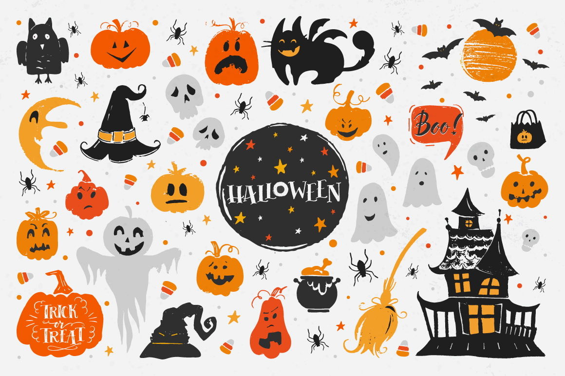 Halloween night Mega Pack! example image 2