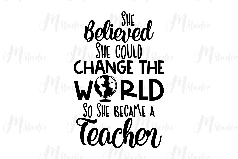 Teacher SVG Bundle. example image 18