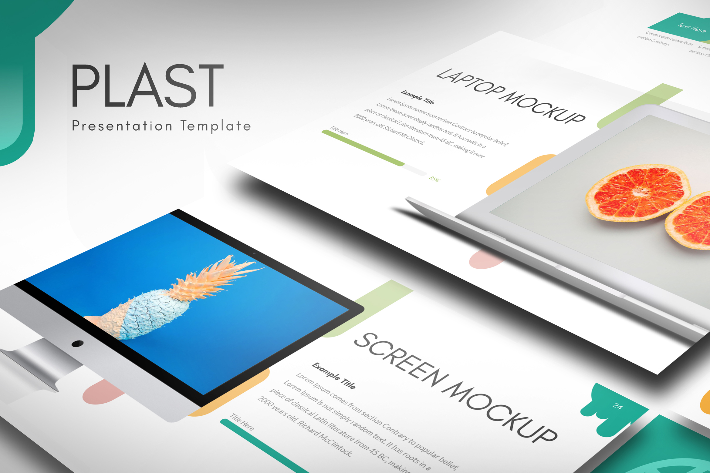 PLAST - Multipurpose Keynote Presentation Template example image 6