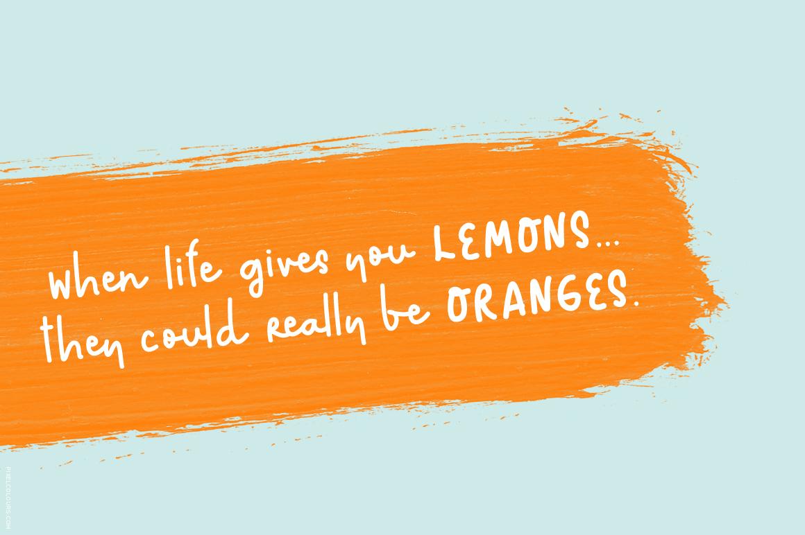 Rushi Orange Font example image 4