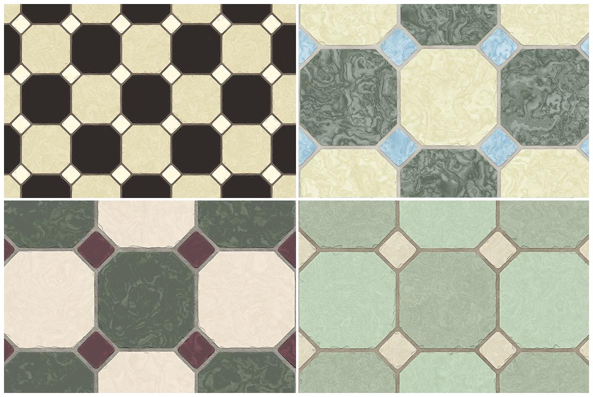 10 Classic Floor Tile Textures example image 3