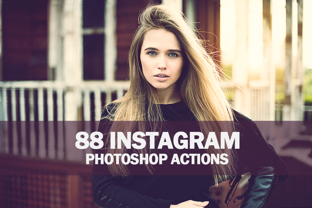 88 Instagram Photoshop Actions Collection (Action for photoshop CS5,CS6,CC) example image 1