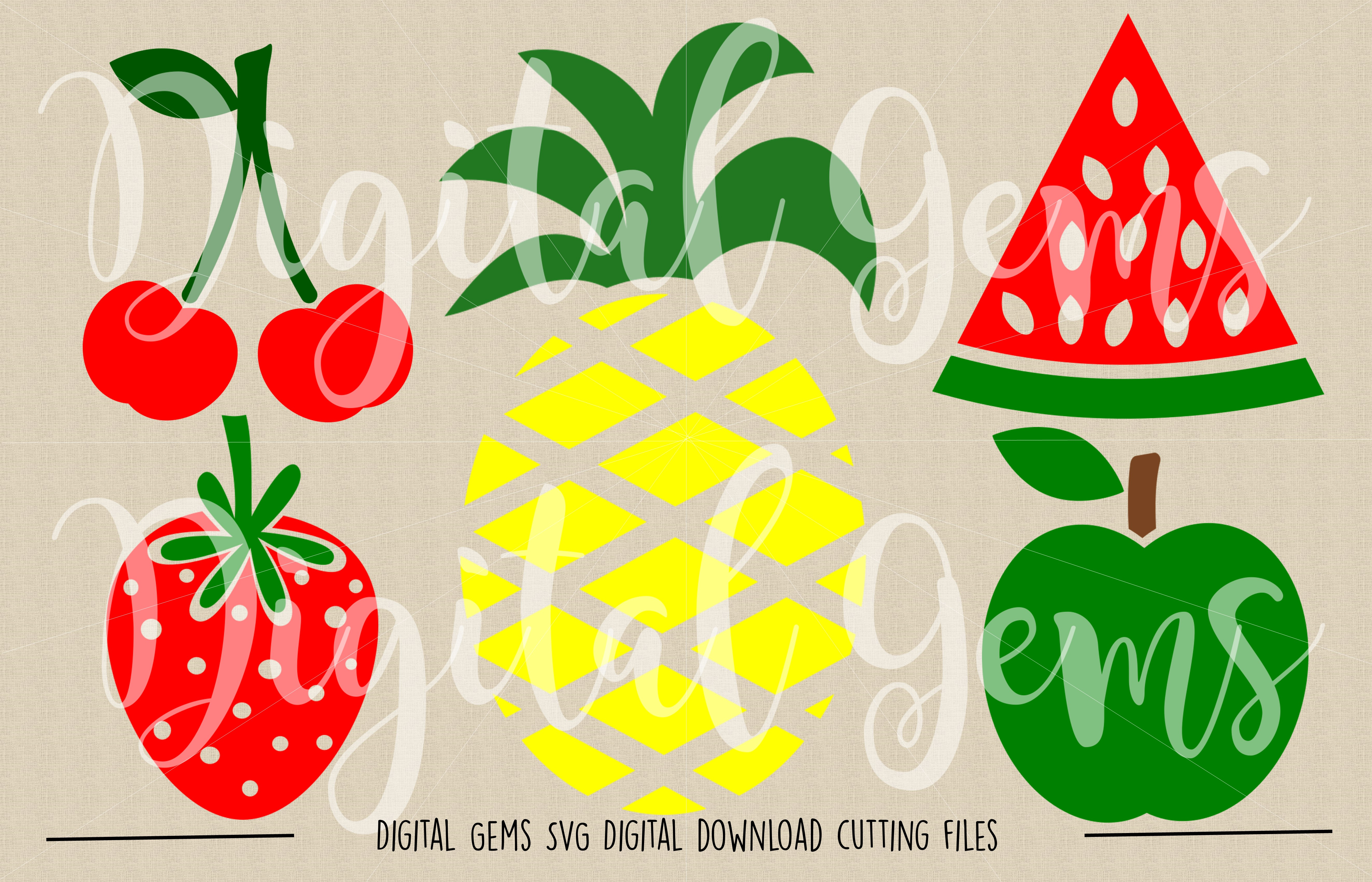 Fruit SVG / PNG Files example image 2