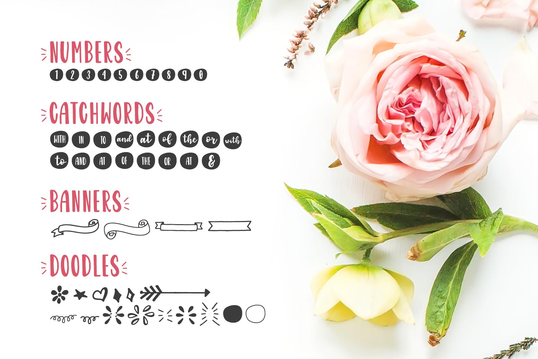 Garden Fancy Font Duo example image 9