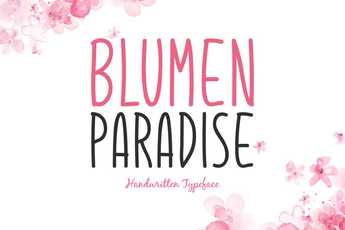 Blumen Paradise example image 1