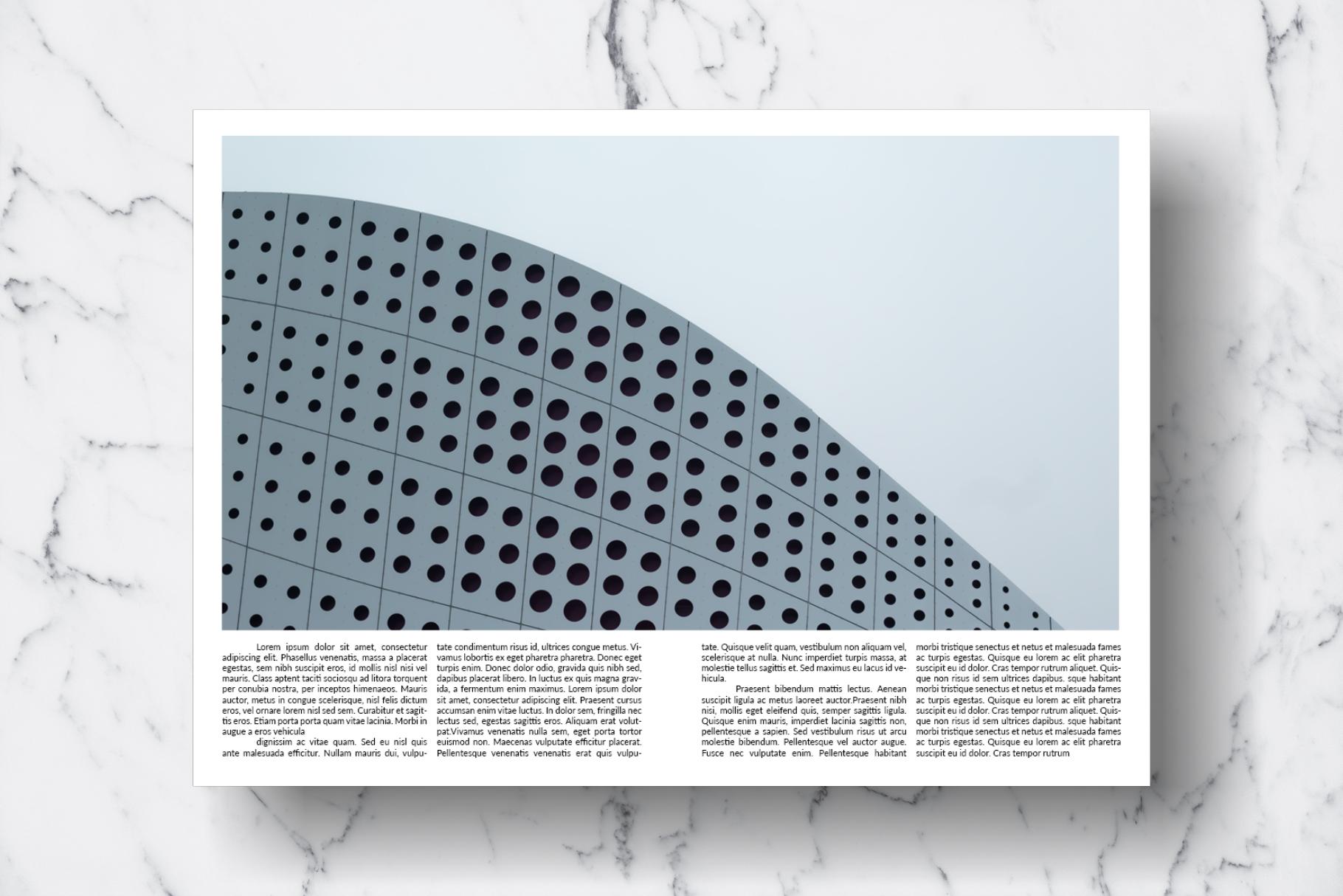 Magazine Template Vol. 13 example image 13