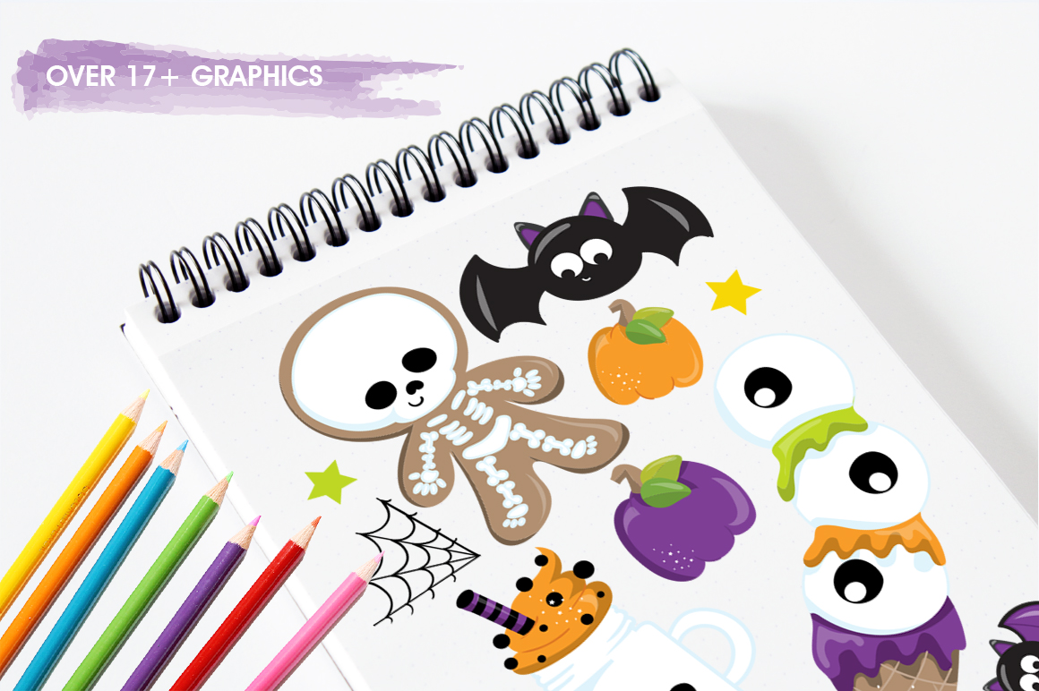 Trick or treat graphic and illustrations example image 4