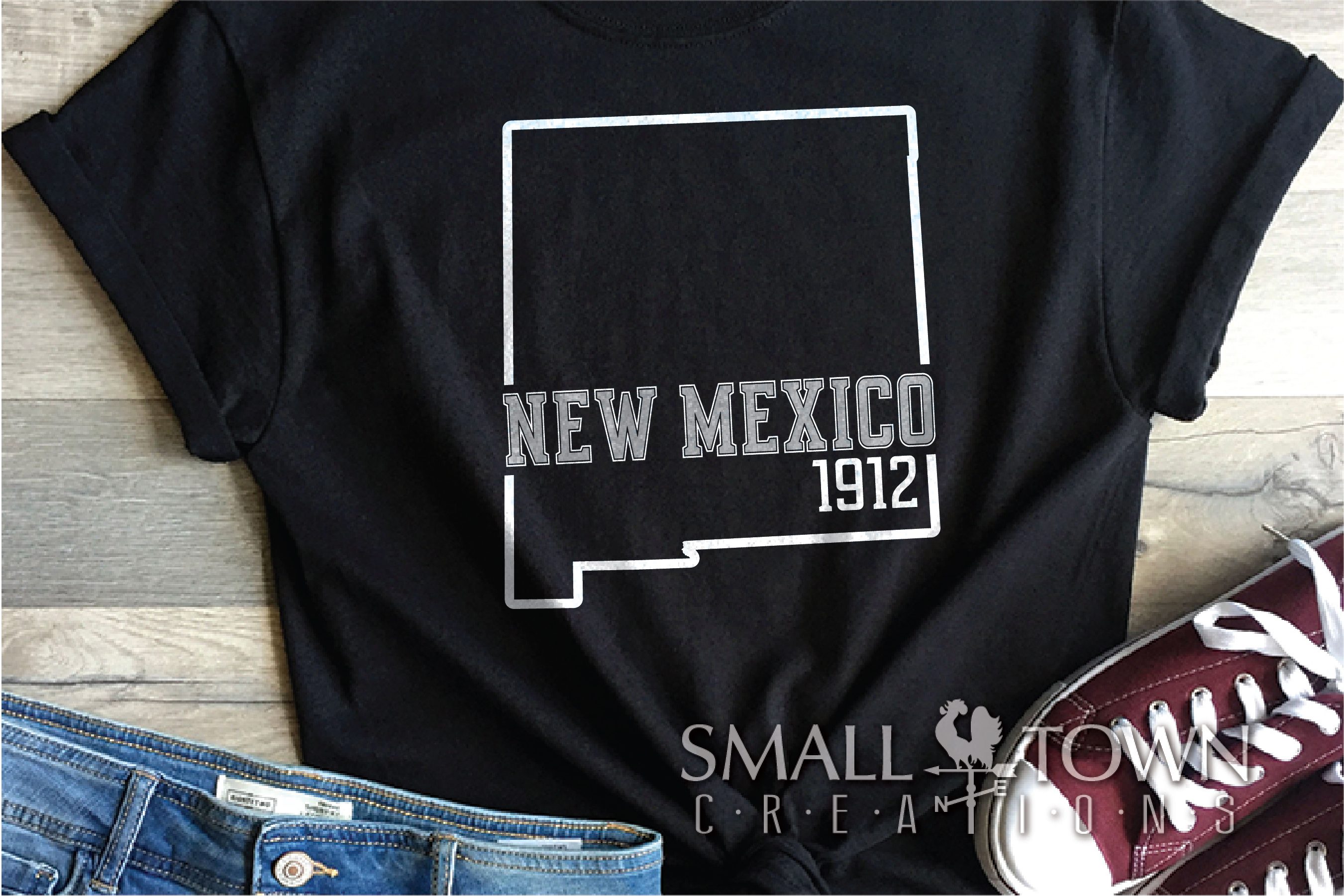 New Mexico, Sunshine State - slogan, PRINT, CUT & DESIGN example image 6